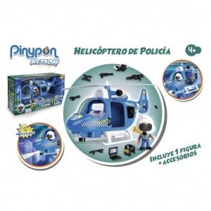 HELICOPTERO POLICIA PINYPON ACTION