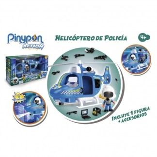 helicoptero de policia pinypon