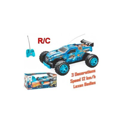 coche rc hot wheels 124 1