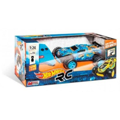 coche rc hot wheels 124 2