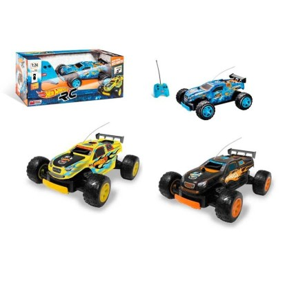 coche rc hot wheels 124