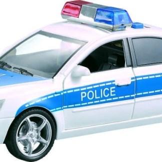 coche policia luces y sonido
