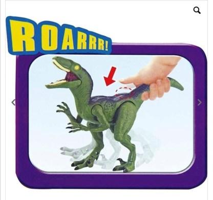 dinosaurio luces y sonido