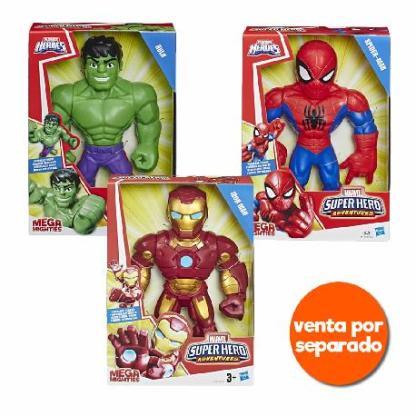 marvel heroes figuras mega mighties surt