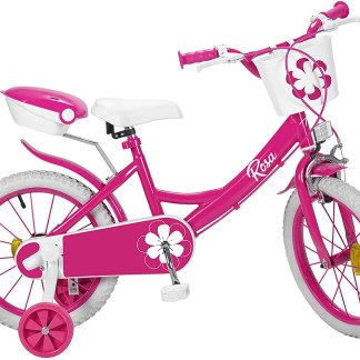 Bicicleta de 16 Pulgadas Rosa