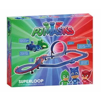 circuito pj masks superloop