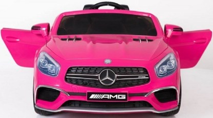 coche electrico mercedes amg rosa