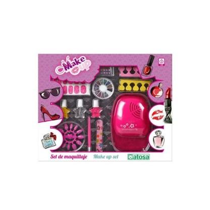 Set manicura rosa