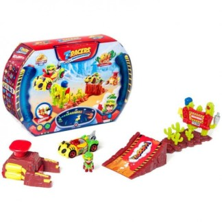 T- RACERS PLAYSET EAGLE JUMP, INCLUYE PILOTO