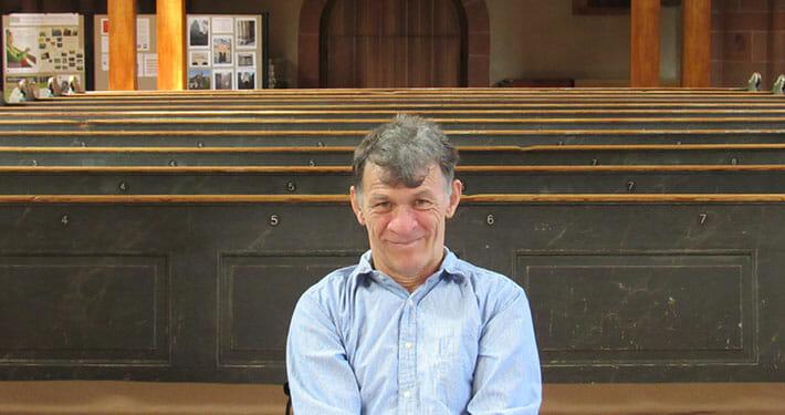 Сергей Сапоненко в храме