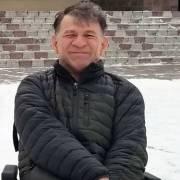 Сергей Сапоненко в снегу