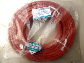 จำหน่ายยางฟองน้ำซิลิโคนสีแดงอิฐ สินค้าพร้อมส่ง.JPG