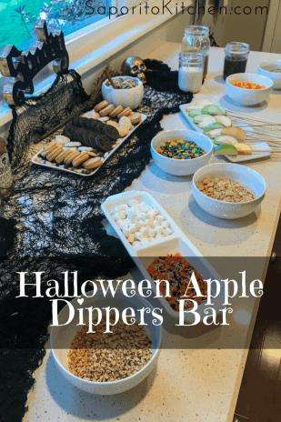 Halloween Apple Dippers Bar