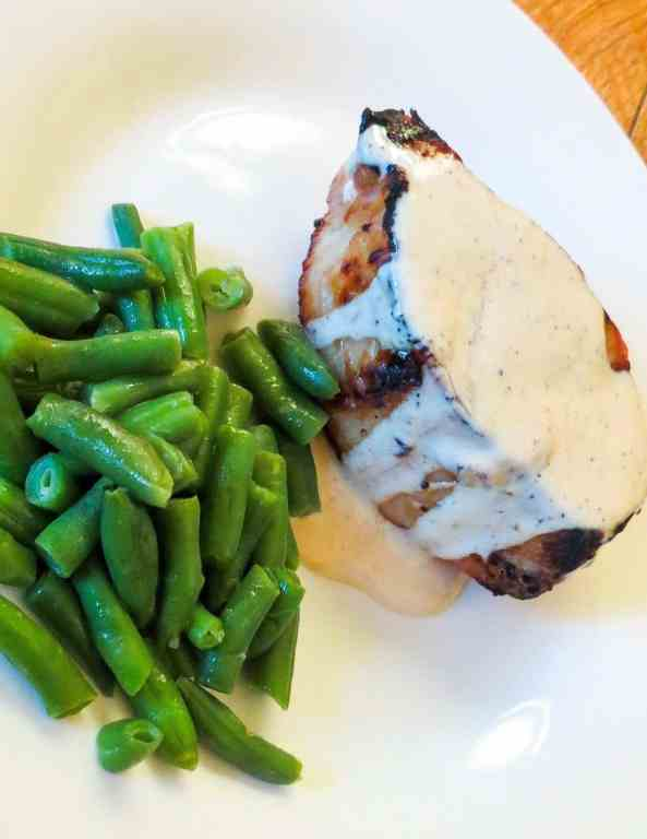 grilled pork chops with white bbq sauce
