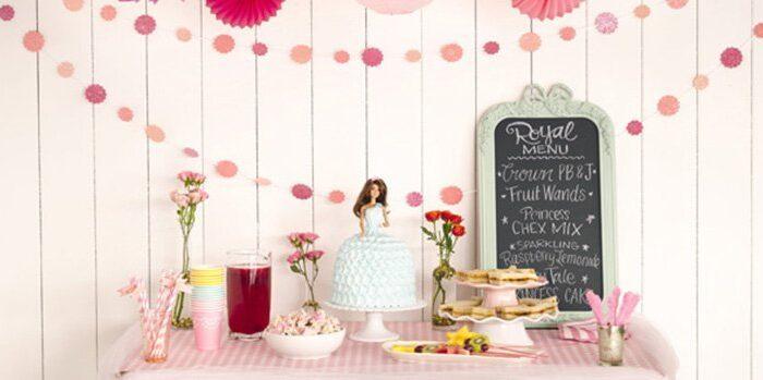 8 Ideas para un cumpleaños de princesas
