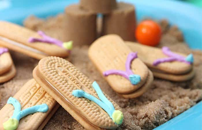fiesta en la piscina galletas
