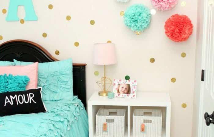 Ideas molonas para decorar una habitacin de nias