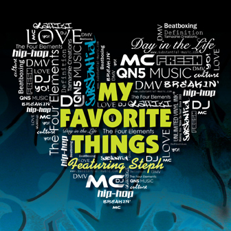 """""""My Favorite Things"""" Single Cover"""