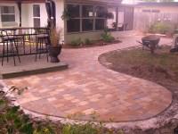 6 Backyard pavers | Sapphire Developments Inc