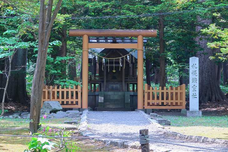 札幌鉱霊神社 全景
