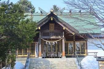 厚別神社 本殿
