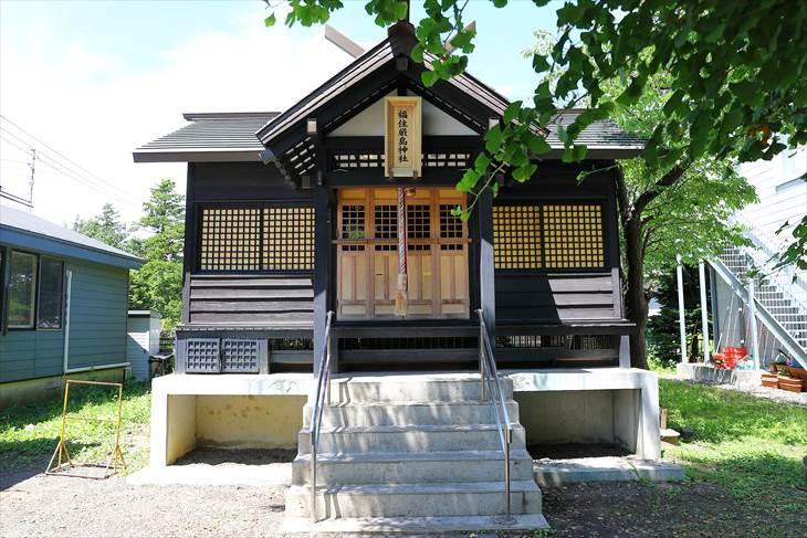 福住厳島神社 本殿