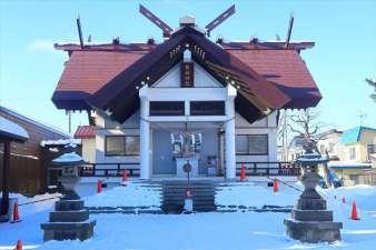 苗穂神社 社殿