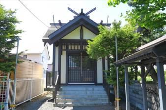 中沼神社 本殿