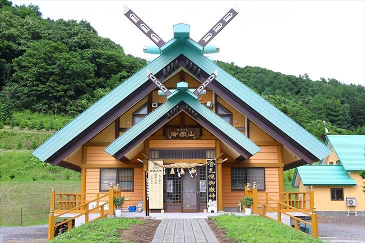 札幌御嶽神社 社殿