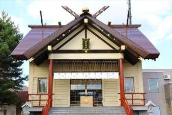新川皇大神社 本殿