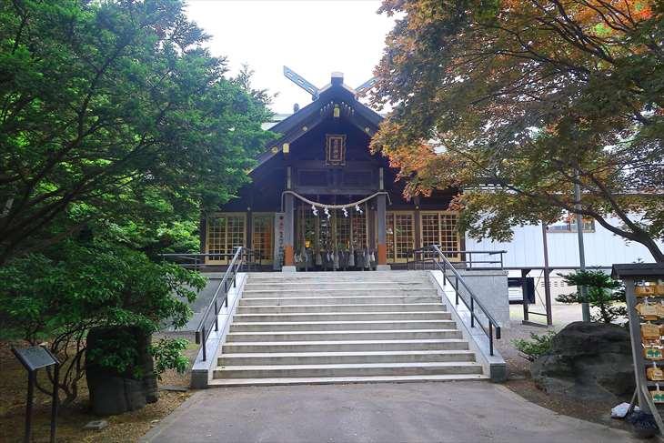 厚別神社 社殿