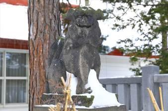弥彦神社 狛犬様