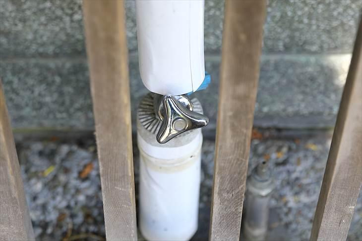 豊平神社 手水舎の蛇口