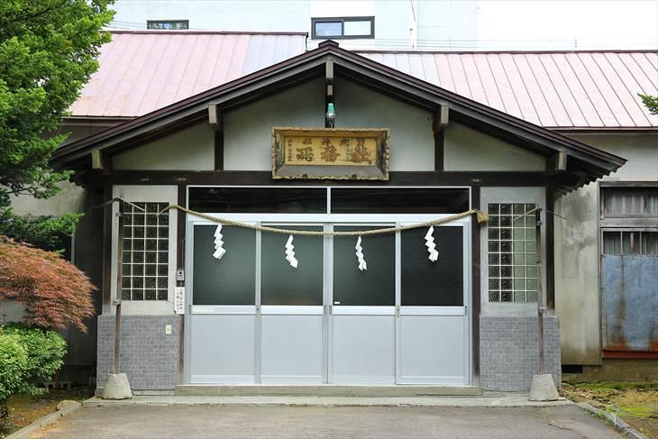 月寒神社 社務所