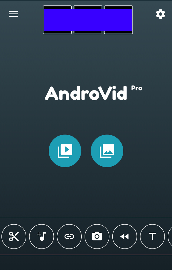 how to use AndroVid Pro