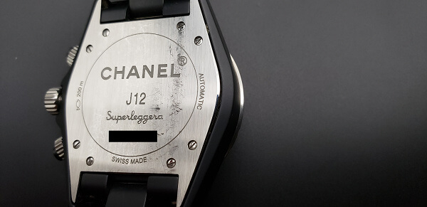 CHANEL J12 Superleggera H3409 裏蓋