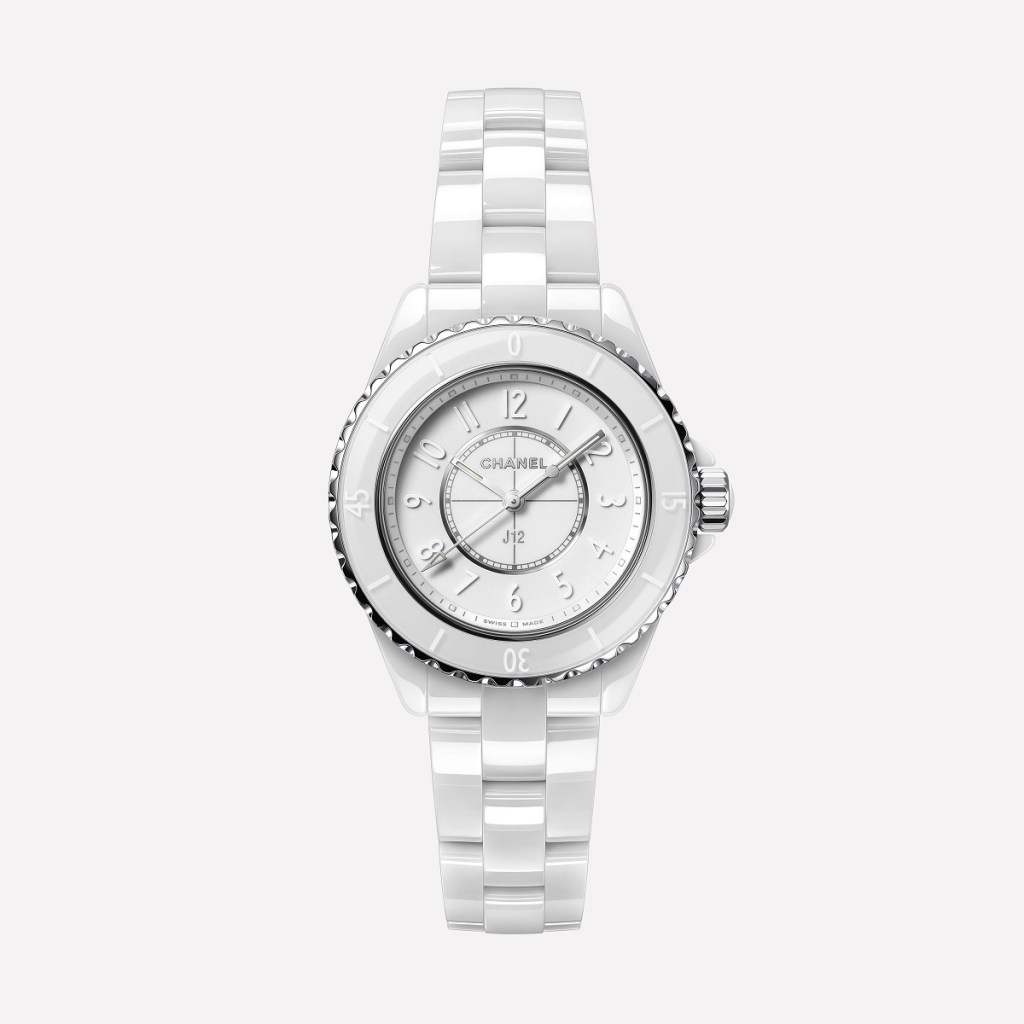 CHANEL J12 PHANTOM WHITE 33mm H6345