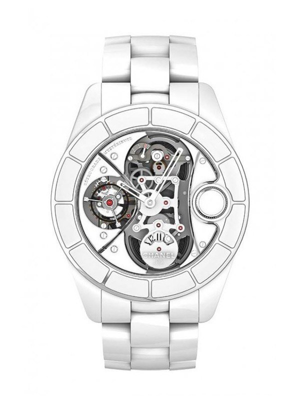 CHANEL J12 RMT WHITE 47mm H2557