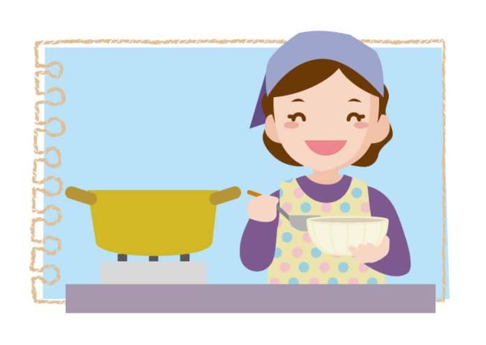 コンロdeかんたん炊きこみご飯