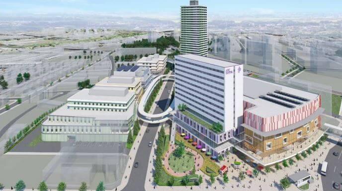 新さっぽろ駅周辺の再開発-2022年完成予定