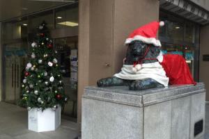 札幌三越クリスマスのライオン
