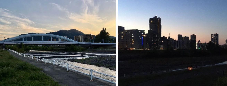 豊平川景色