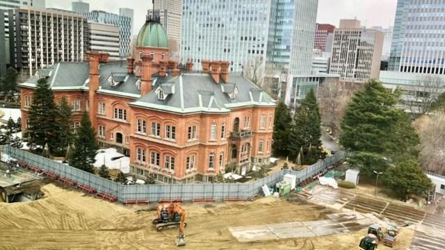 議会庁舎解体