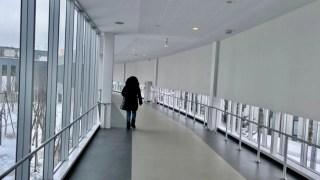 苗穂空中歩廊