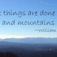 When Men and Mountains Meet