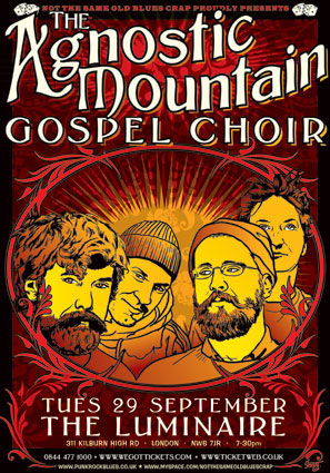 Agnostic Mountain Gospel Choir poster