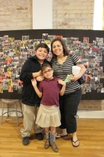 Families found photos their students took and celebrated their community and family together.