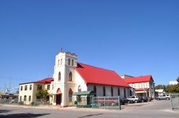 The Healy-Murphy Center, at the corner of Live Oak and Nolan Streets in San Antonio, originated as St. Peter Claver School in 1888. It was built by Margaret Mary Healy-Murphy, widow of John Bernard Murphy, former mayor of Corpus Christi, in response to the urgent need for education for African Americans.