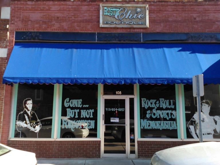 Memorabilia Business set to open on Downtown Sapulpa's Route 66
