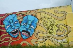 sapulpa community theater mural